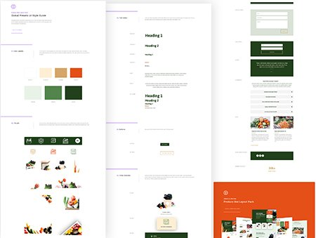 Divi Produce Box Global Presets Style