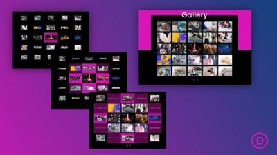 Divi Grid Staggering Animation
