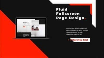 Divi Design a Fluid Hero Section