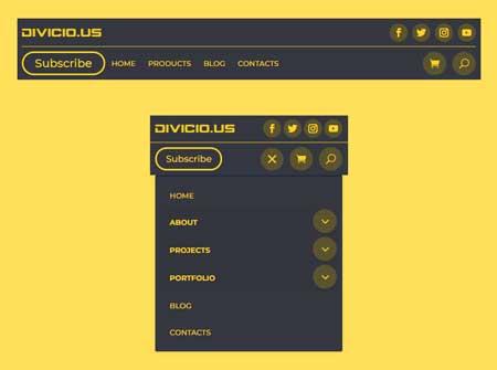 Divi Header Templates Free Download
