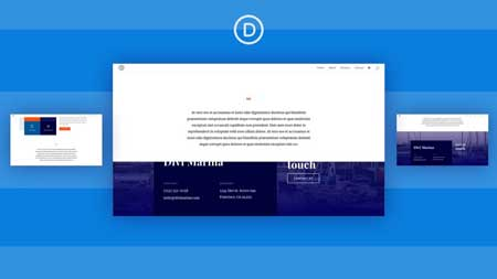 Divi Sticky Footer Reveal with Divi